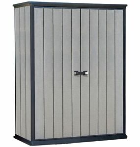 Keter High Store Garden Storage Shed - Grey From the Official Argos Shop on ebay