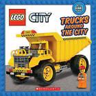 Lego City: Trucks Around the City by Scholastic (Board book, 2016)