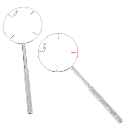 1 Pc 0.25 0.5D Round Cross Cylinder Lens Optical Tool Instruments Optometrist uo