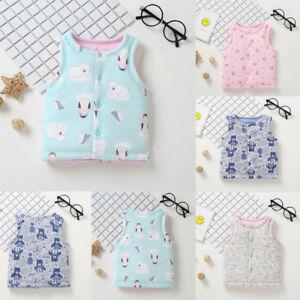 Kid Newborn Animal Jackets Baby Girl Toddler Warm Vest Waistcoat Clothes Coat Uk Ebay