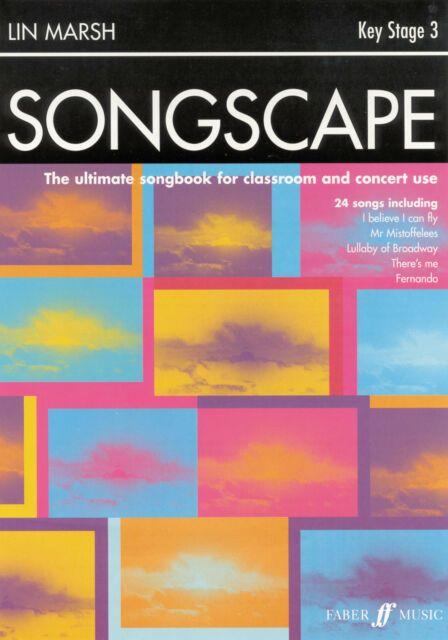Songscape Teachers Children Piano Voice Guitar Learn to Play FABER Music BOOK