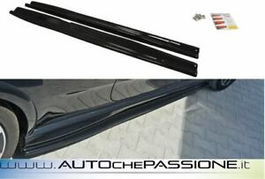 Coppia-splitter-minigonne-Fiat-Grande-Punto-EVO-Abarth-10-gt-2014-lama-lip
