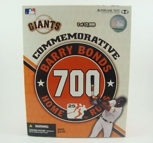 Mcfarlane Toys Mlb Baseball Bonds 700 Figurine Exclusive Giants Mib Nouveau