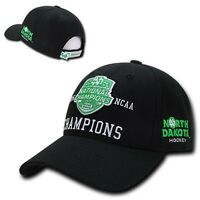 North Dakota Fighting Hawks Hockey National Champions 2016 Ncaa Snapback Hat Cap