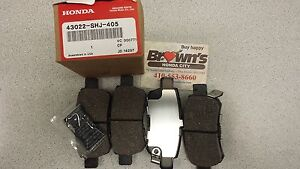 Image Is Loading NEW GENUINE HONDA ODYSSEY REAR BRAKE PADS 43022