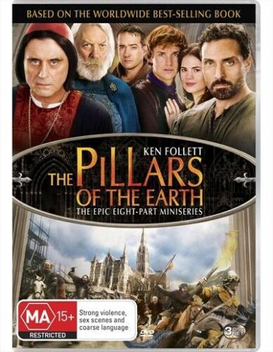 1 of 1 - The Pillars Of The Earth : NEW DVD