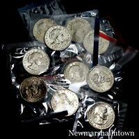 1979 1980 1981 1999 P+D+S Susan B Anthony ~ SBA ~ Dollars BU Mint Set Lot of 10