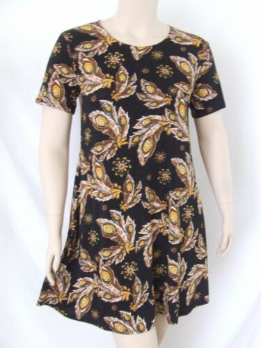 stretchy no-iron poly//span #022 Travel Knit Dress,Short A-Line short sleeve NEW