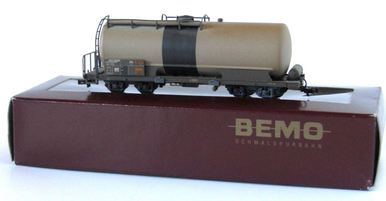Bemo RHB vagones, bastidor giratoria auto, werksgealtert, h0m, Art. 2285, embalaje original