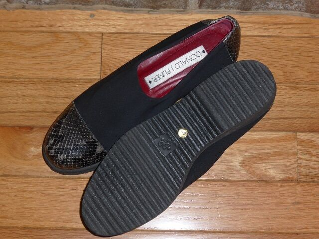 Donald Microfiber J. Pliner Microfiber Donald Croc Toe Cap and Heel Sz 6.5 66d053