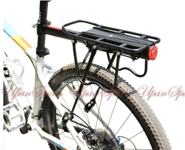 60kg! Disc Brake Bicycle Road Bike Quick Release Alloy Rear Rack Carrier Pannier