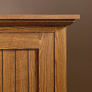 Sauder 401867 Summer Home Pantry Carolina Oak Finish New
