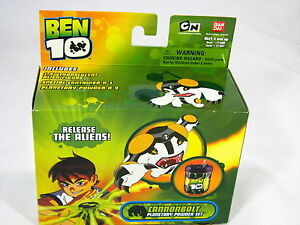 BNIB BEN 10 CANNONBOLT PLANETARY POWDER SET