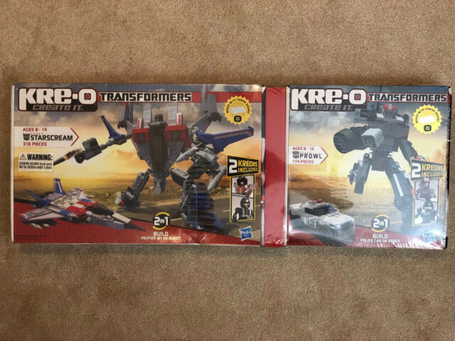 KRE-O TRANSFORMERS PROWL Construction Set ** GET YOURS TODAY **
