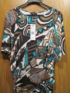 Ny multicolore shirt 348 148 donna manica corta Lafayette S multicolor taglia T 5axS1