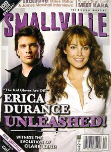 SMALLVILLE-Official-Magazine-23-Reg-ERICA-DURANCE-Rare