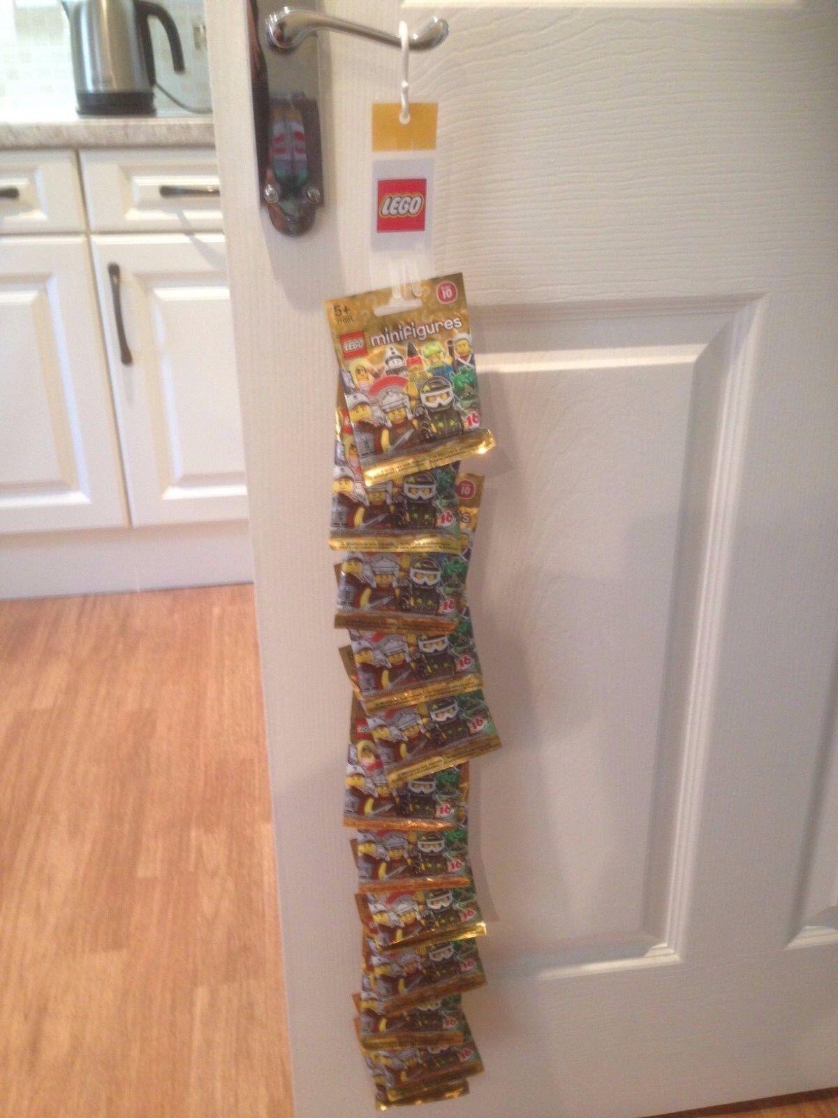 Lego minifigures serie 10 sellado sin abrir paquetes de bolsas de misterio ciego aleatorio