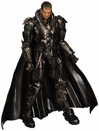 Square Enix Man of Steel Play Arts Kai General Zod Figure NEW from Japan