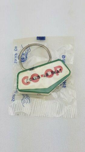 Vintage Co-Op Alberta Key Ring