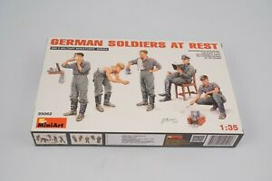 MiniArt-35062-German-Soldiers-At-Rest-1-3-5-Modell