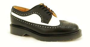 Solovair-NPS-Shoes-Made-in-England-5-Eye-Black-White-American-Brogue-S052-L5812