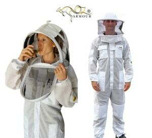 OZ-ARMOUR-BEEKEEPING-BEE-SUIT-PREMIUM-VENTILATED-THREE-LAYER-MESH-ULTRA-COOL