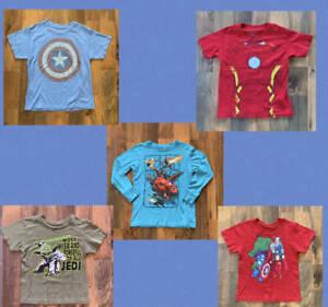 Disney Store Iron Spider Man Costume Shirt Avengers Boys 2//3 4 5//6 7//8 10//12 14