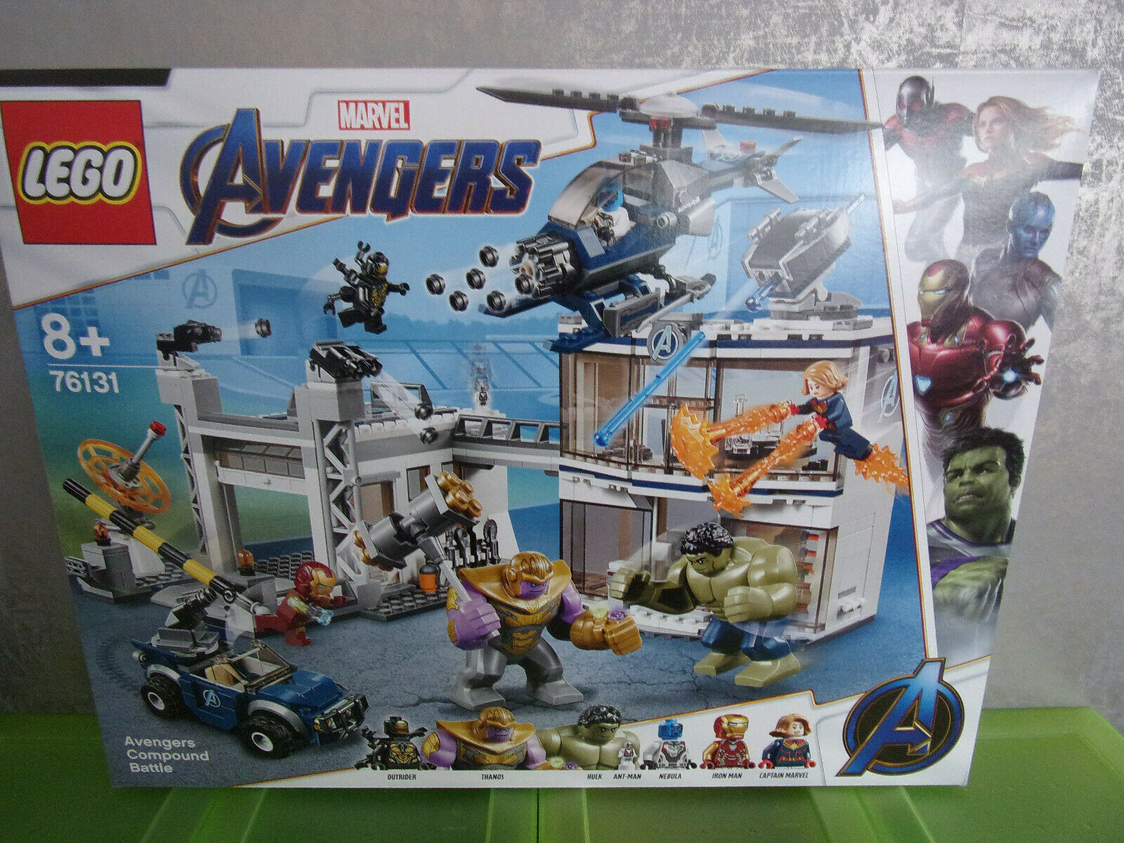 Lego Marvel Avengers - 76131 Avengers compound Battle-nuevo & OVP