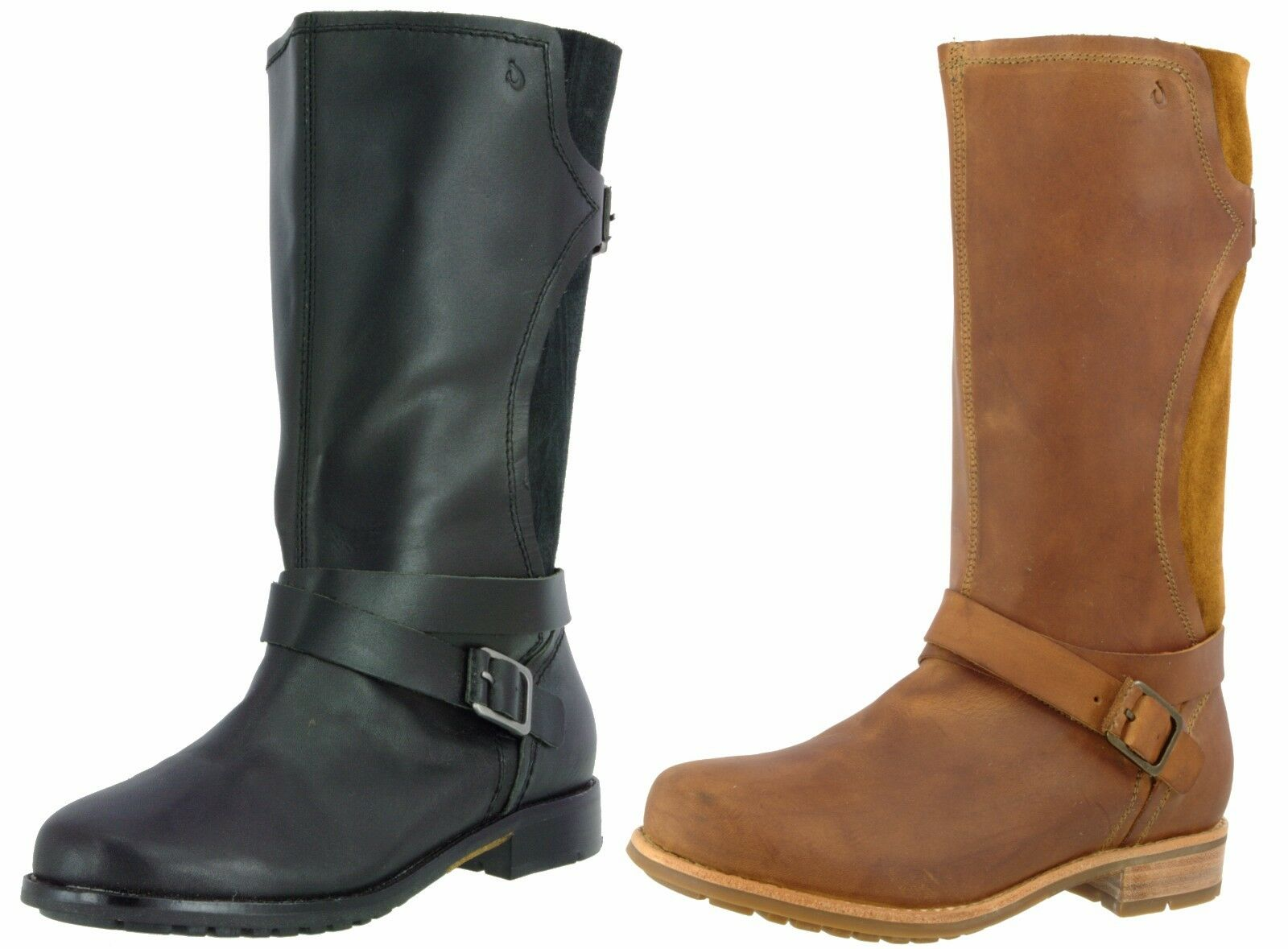 OLUKAI SAMPLE 20202 WOMEN'S PA'IA SUEDE LEATHER PULL ON  BOOTS US 7