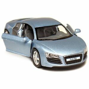 Image Is Loading New Kinsmart 5 034 Audi R8 Diecast Model