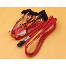 LSI MINISAS Sff-8087 to 4 Sff-8482 1m 07-00021-01 Molex 74562-7500 SAS Cable