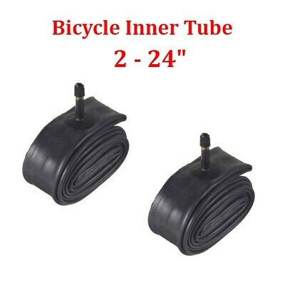 """10 24/"""" inch Bike Inner Tube 24 x 1.75-2.125 Bicycle Rubber Tire Interior BMX"""