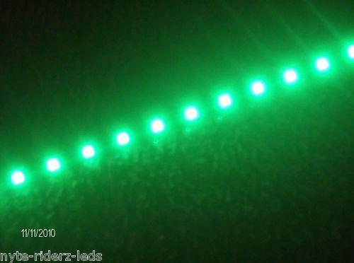 "MAZDA GREEN 12/"" 5050 SMD LED STRIPS NEW 2 STRIPS"