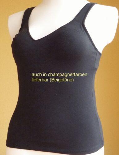 C-E Soft BH Top schwarz oder champagner 80-90 015