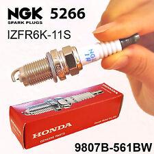 spark plug laser iridium ngk 5266 fits 06 11 honda civic 1 8l l4 ebay