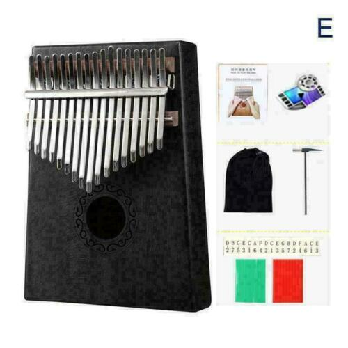 T8W5 17Keys Holz Kalimba Finger Daumenklavier Bildung Musikinstrument-Spielzeug