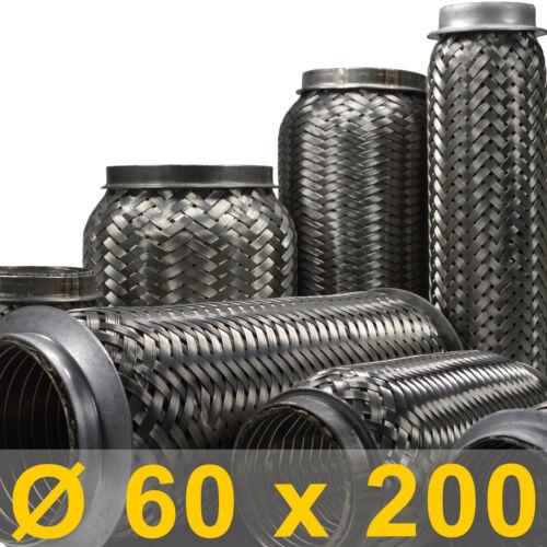 flexibles Rohr Auspuff universal Ø 60 x 200 Länge mm