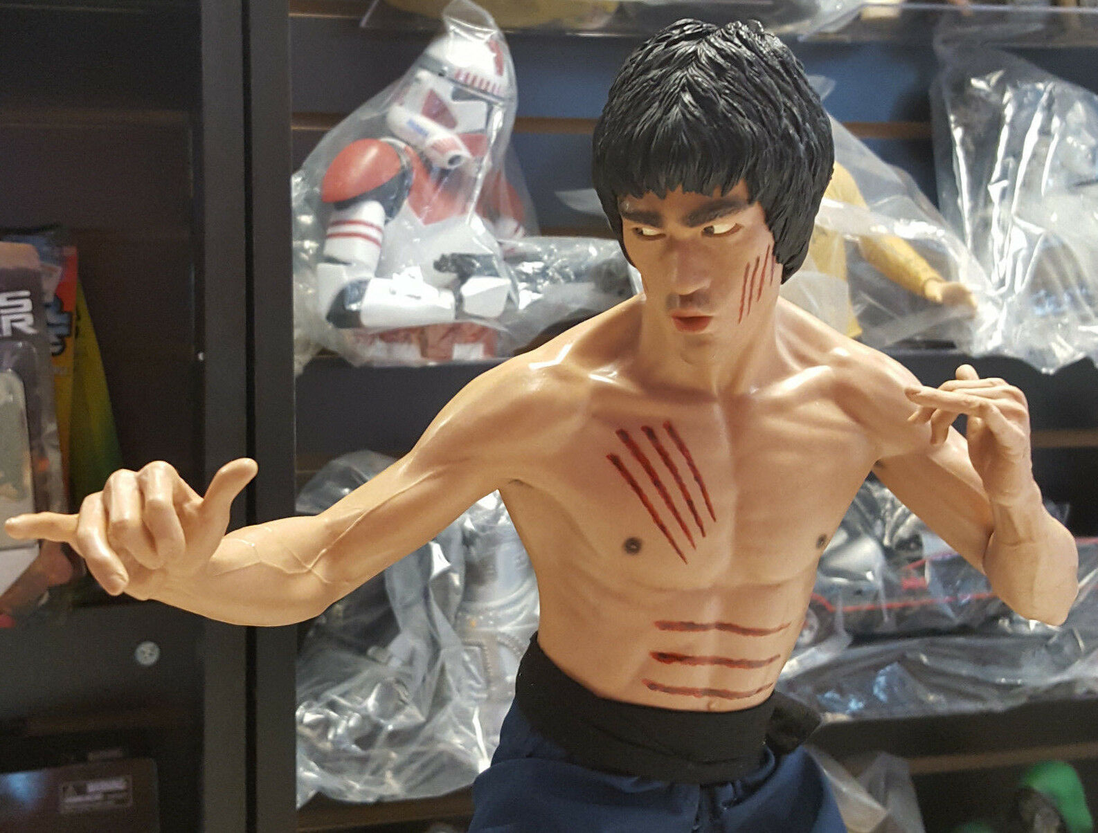 Bruce Lee 1/4 Scale Statue Limited 2500 pieces by by by EnterBay Used JC bb1c4c