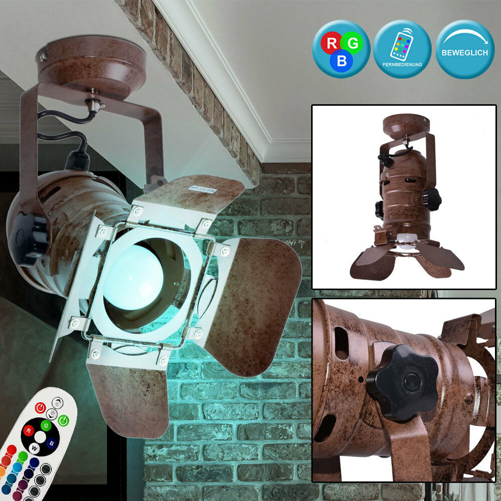 Rgb LED Proyector De Parojo Control Remoto Móvil Spotlight Proyector Lámpara Regulable