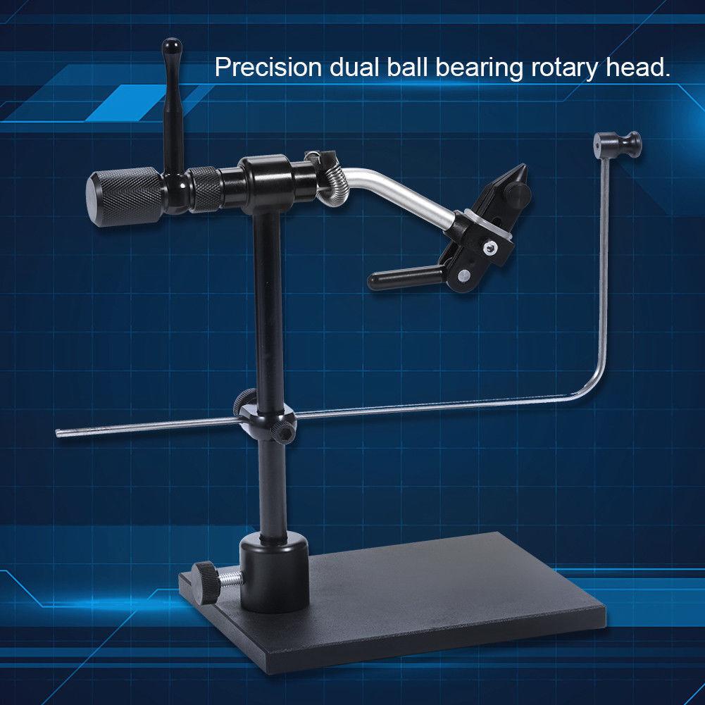Aleación de aluminio herramientas rojoativas para moscas prensas con base de servicio pesado aparejos de pesca dy
