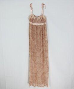 Camicia da Notte Donna LA PERLA CFI0016268 Rosa Antico Dettagli in Pizzo Mis 2