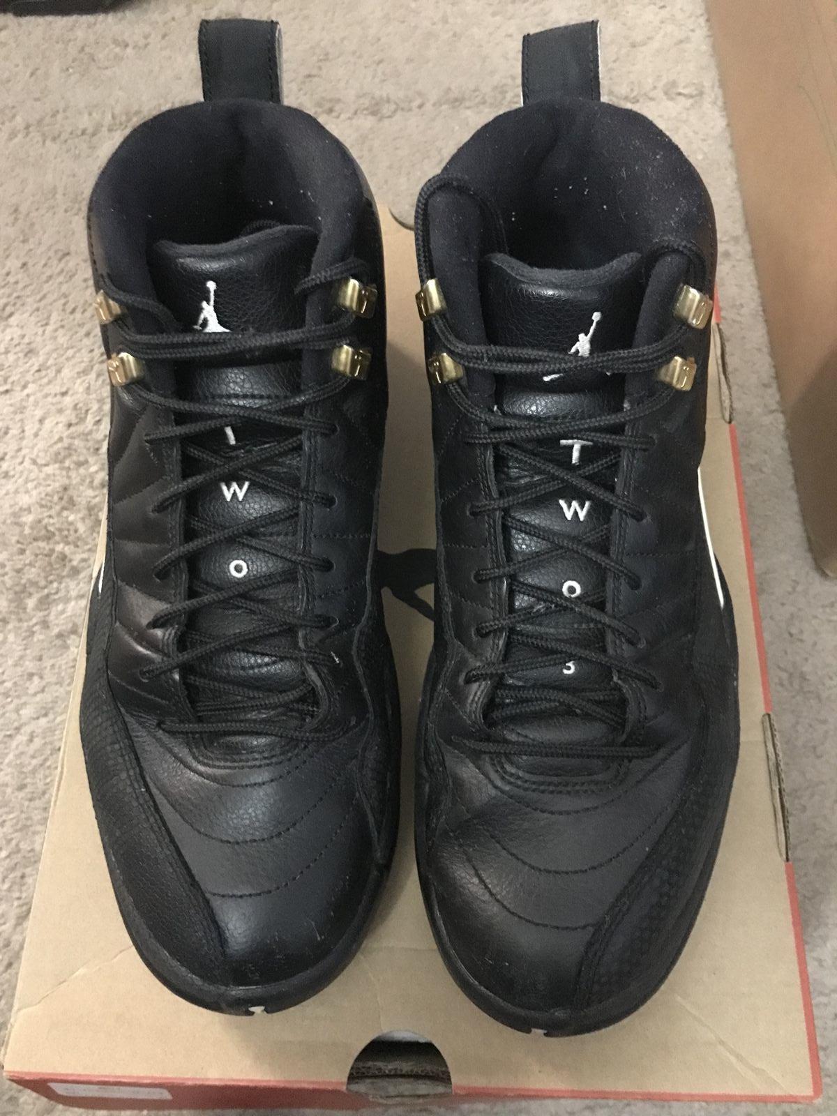 2018 Nike Air Jordan talla Retro XII del maestro 130690-0seminuevo talla Jordan 8 38a420