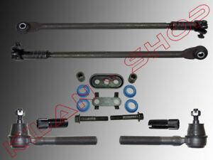 2x-Track-Rod-End-2x-Tie-Einstellhulsen-Repair-Set-Chrysler-300m-1998-2004