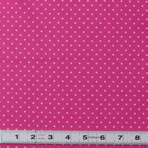 Lot-A439-WHITE-DOTS-ON-PINK-by-Cottage-Pin-Patchwork-Fabric-by-the-metre