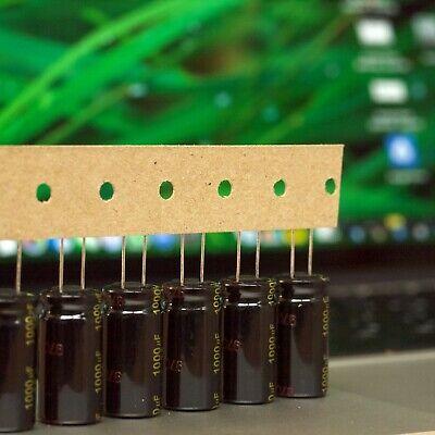 6 pcs panasonic FR capacitor 63v 100uf Ultra Low ESR Impedance 105 degrees