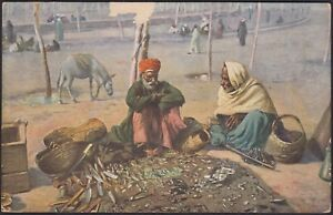AX3753-Tipi-della-Turchia-Cartolina-postale-Postcard