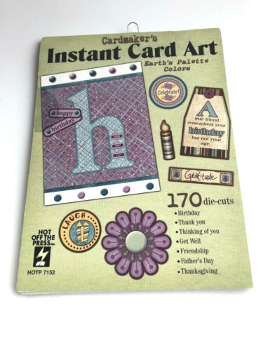New HOTP Cardmaker/'s Earth/'s Palette Instant Cardmaking Art Pack 170 Die Cuts