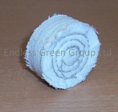 "2/"" Cotton Buffing Wheel 50mm x 20mm Polishing Mop ideal for cordless drill C50//2"
