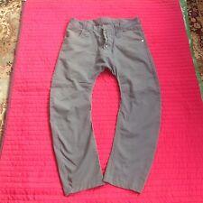 Men's Humor Santiago Chinos/Jeans Size 33 Gray Arc leg Drop Crutch Excellent Co