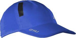 2xu Run Cap-bleu-afficher Le Titre D'origine Construction Robuste